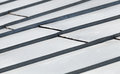 Abstract fragment of metal roof surface Royalty Free Stock Photos