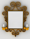 Abstract frame, ornament Royalty Free Stock Photo