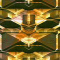 Abstract futuristic background of blocks resembling detail of modern architecture Royalty Free Stock Photo