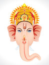 Abstract ganesha head concept Stock Photography