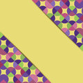 Abstract geometric background with circles colorful pattern of circles Royalty Free Stock Photo