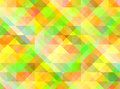 Abstract geometric background with colorful tiles Royalty Free Stock Photo