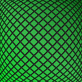 Abstract geometric background design of green rectangles mosaic pattern Royalty Free Stock Images