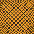 Abstract geometric background design of orange rectangles mosaic pattern Royalty Free Stock Images