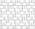 Abstract geometric background. Linear grid structure from rectan