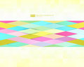 Abstract geometric background. Modern overlapping triangles. Unusual color shapes for your message. Pattern design for