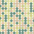 Abstract geometric background with pastel colors shapes Stock Images