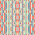 Abstract geometric background. Seamless vector pattern. Ornament illustration with vertical stripes Royalty Free Stock Photo