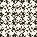 Abstract geometric background with swirls.