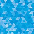 Abstract geometric background of triangular