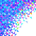 Abstract geometric background vector color Royalty Free Stock Photos