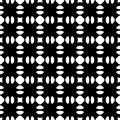 Abstract geometric black