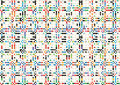 Abstract Geometric Colorful Dots Grid Pattern Textures Background