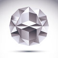 Abstract Geometric 3D Object, ...