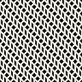 Abstract geometric grid. Black and white minimal graphic design print pattern