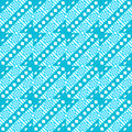 Abstract geometric pattern in light blue seamless Stock Photos