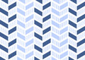 Abstract geometric pattern with lines and stripes.. A seamless vector background. blue and white texture Royalty Free Stock Photo