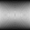 Abstract geometric pattern with squeezed-compressed distortion e Royalty Free Stock Photo