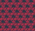Abstract geometric pattern with triangles and lines - vector eps8