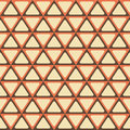 Abstract geometric pattern with triangles.