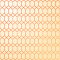 Abstract geometric pattern. Warm colors - yellow and orange.