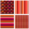 Abstract and geometric patterns Stock Image