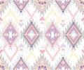 Abstract geometric seamless aztec pattern Royalty Free Stock Photo