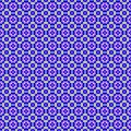 Abstract geometric seamless background violet and yellow color vector illustration for your design line pattern tile Royalty Free Stock Photography