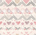 Abstract geometric seamless pattern Stock Photography