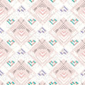 Abstract geometric seamless pattern Royalty Free Stock Images