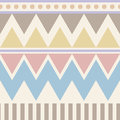 Abstract geometric seamless pattern. Aztec style with triangle and line tribal Navajo pattern. pastel color blue beige pink brown Royalty Free Stock Photo