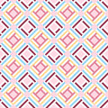 Abstract geometric seamless pattern background, vector