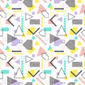 Abstract geometric seamless pattern. Modern texture. Colorful geometric background.
