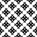 Abstract geometric seamless pattern, square figures