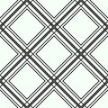 Abstract Geometric Shapes Black line square Monochrome Seamless Pattern eps10