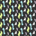 Abstract geometric shapes seamless pattern.