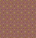 Abstract geometric spirograph pattern vector seamless texture Royalty Free Stock Image