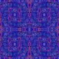 Seamless spiral pattern purple violet