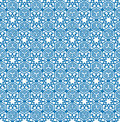 Abstract geometric texture Snow crystal seamless pattern in orie