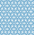 Abstract geometric texture Snow crystal seamless pattern Winter