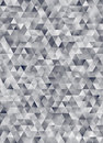 Abstract geometric triangle pattern 3d rendering