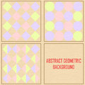 Abstract geometric vintage vector background this is file of eps format Royalty Free Stock Photo