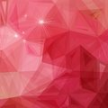 Abstract geometrical background red triangle vector illustration eps contains transparent objects Stock Photos