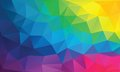 Abstract geometrical background with triangles this is file of eps format Stock Photo