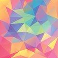 Abstract geometrical polygonal background this is file of eps format Stock Photo