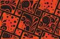 Abstract geometrical seamless ornament tribal Stock Photos
