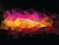 Abstract geometrical triangles background this is file of eps format Royalty Free Stock Images