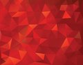 Abstract geometrical triangles background this is file of eps format Stock Photography