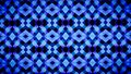 Abstract Geometry blue wallpaper.