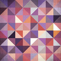Abstract geometry triangles bright pattern colorful vector Stock Photo